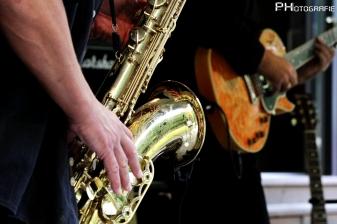 Saxophon & Gitarre